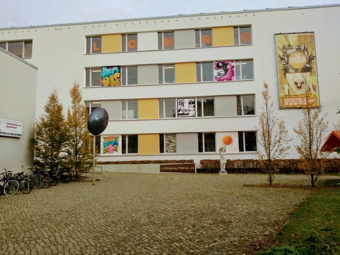 Kulturzentrum FRIEDA 23 in Rostock, Heimat des Freien Radios LOHRO